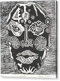 Portrait Acrylic Print by Branko Jovanovic