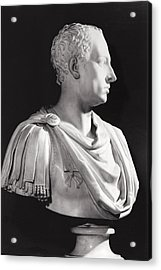 Portrait Bust Of Francis I 1708-65, Holy Roman Emperor Acrylic Print
