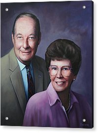 Portrait For Cathy Crissman Acrylic Print