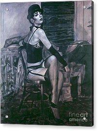 Portrait Of A Night Infatuation Acrylic Print
