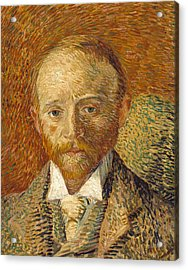 Portrait Of Alexander Reid 1887 Acrylic Print by Vincent van Gogh