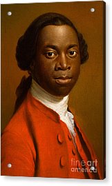 Portrait Of An African Acrylic Print by Allan Ramsay
