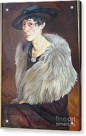 Portrait Of Anna Grilikhes Acrylic Print by Celestial Images