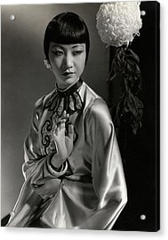 Portrait Of Anna May Wong Acrylic Print by Edward Steichen