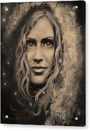 Portrait Of Annie Acrylic Print