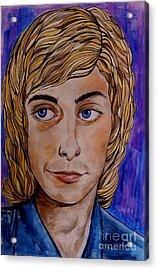 Portrait Of Barry 2 Acrylic Print