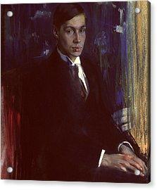 Portrait Of Boris Pasternak Acrylic Print by A A Murashko