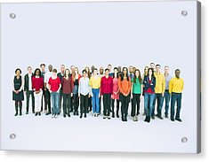 Portrait Of Business People Acrylic Print by Caiaimage/Robert Daly