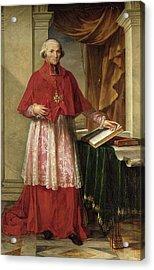 Portrait Of Cardinal Joseph Fesch 1763-1839 1806 Oil On Canvas Acrylic Print