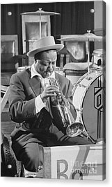 Portrait Of Charlie Shavers 1953 Acrylic Print by The Harrington Collection