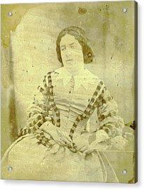 Portrait Of Charlotte Asser, Eduard Isaac Asser Acrylic Print
