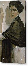 Portrait Of Countess Olsuphyev Acrylic Print