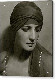 Portrait Of Dolores Acrylic Print