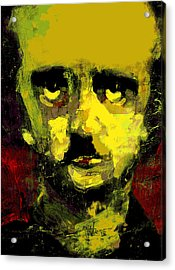 Portrait Of Edgar Allan Poe  Acrylic Print by Jim Vance