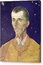 Portrait Of Eugene Boch Acrylic Print by Vincent Van Gogh