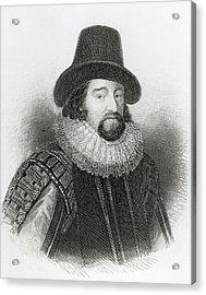 Portrait Of Francis Bacon Acrylic Print