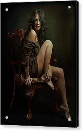 Portrait Of Helen Acrylic Print
