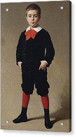 Portrait Of Henri Achille Acrylic Print by Achille Zo