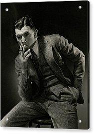 Portrait Of James J. Braddock Acrylic Print