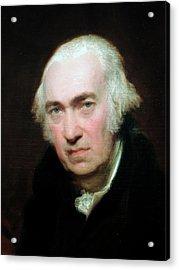 Portrait Of James Watt Acrylic Print