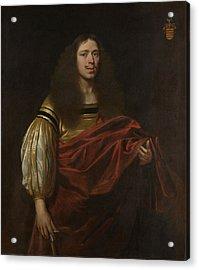 Portrait Of Johan Servaes Van Limburg, Dean Of The Chapter Acrylic Print by Litz Collection