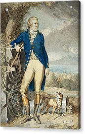 Portrait Of Johann Wolfgang Von Goethe In The Country  Acrylic Print