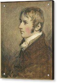 Portrait Of John Constable Aged Twenty Acrylic Print by Daniel Gardner