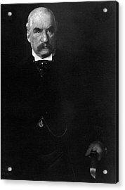 Portrait Of John Pierpont Morgan Acrylic Print