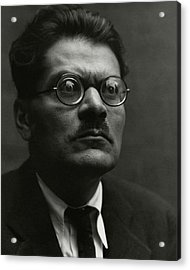 Portrait Of Jose Clemente Orozco Acrylic Print