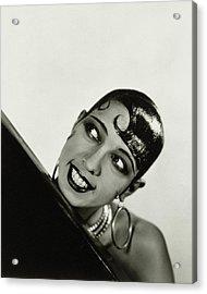 Portrait Of Josephine Baker Acrylic Print