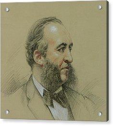 Portrait Of Jules Ferry Acrylic Print by Paul Sarrut