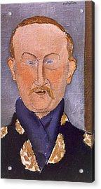 Portrait Of Leon Bakst Acrylic Print