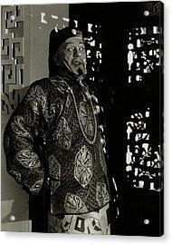 Portrait Of Lon Chaney Acrylic Print