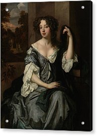 Portrait Of Louise De Keroualle, Duchess Of Portsmouth Acrylic Print by Litz Collection