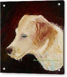 Portrait Of Luke Acrylic Print