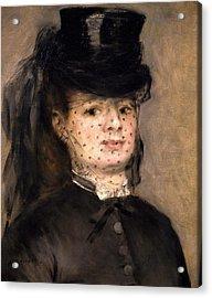 Portrait Of Madame Paul Darras Acrylic Print