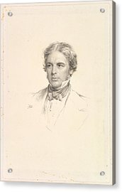 Portrait Of Michael Faraday Acrylic Print