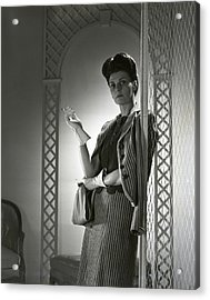 Portrait Of Mrs. Michael Arlen Acrylic Print