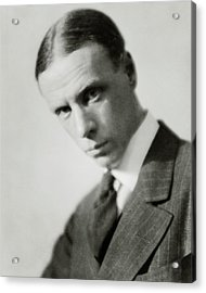 Portrait Of Novelist Sinclair Lewis Acrylic Print