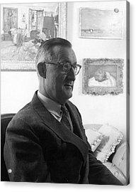 Portrait Of Paul Mellon Acrylic Print by Horst P. Horst