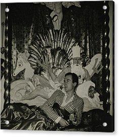 Portrait Of Photographer Cecil Beaton Acrylic Print