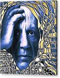 Portrait Of Picasso Acrylic Print