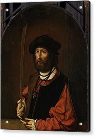 Portrait Of Ruben Parduyn, Knight Of The Holy Sepulchre Acrylic Print