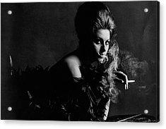 Portrait Of Sophia Loren Acrylic Print by Bert Stern