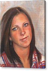 Portrait Of Taylor II Acrylic Print by Terri  Meyer