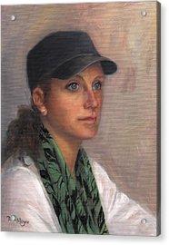 Portrait Of Taylor IIi Acrylic Print by Terri  Meyer