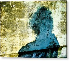 Portrait Of The Artist As Shadow 3 Acrylic Print by Ronda Broatch
