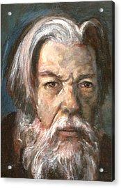 Portrait Of The Artist Acrylic Print