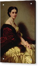 Portrait Of The Countess Sophie Naryshkina Acrylic Print