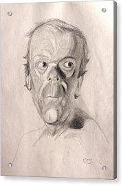 Portrait Study 3 Acrylic Print